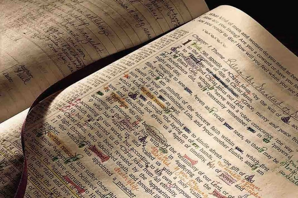 Marked Bible