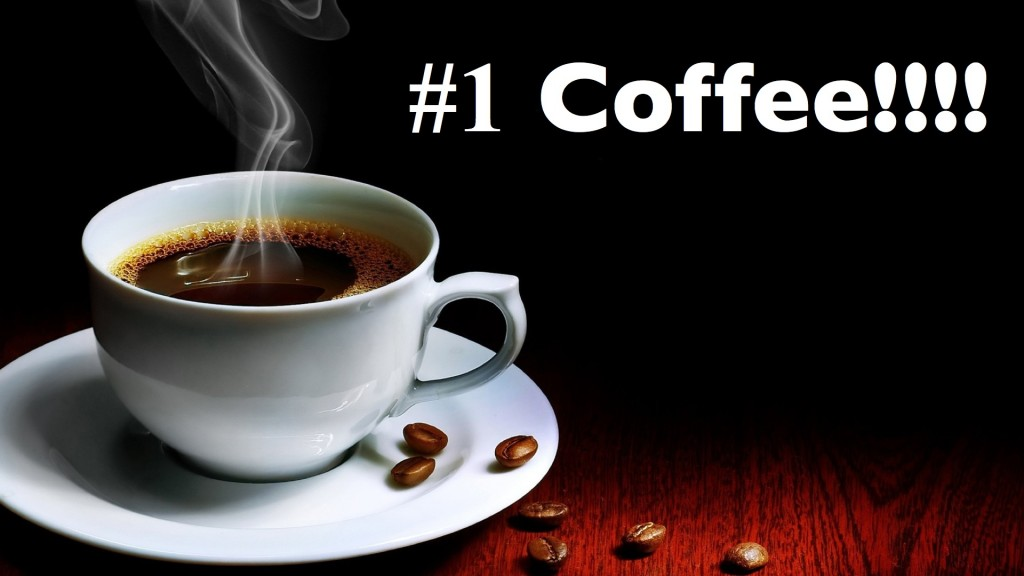 Coffee is #1