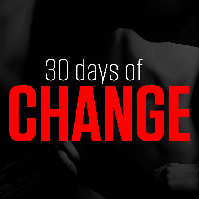 30-days-of-change Fitness Challenge